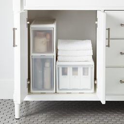 like-it Modular Tall Narrow Drawer White | The Container Store