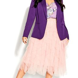 Wild Pixy Skirt - rose | City Chic Online