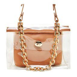 Like Dreams Clear Chain Embellished Shoulder Bag | Macys (US)