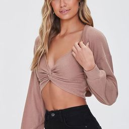 Cropped Cami & Cardigan Sweater Set   Forever 21 (US)
