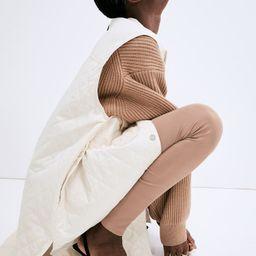 Sleeveless Shirt Jacket   H&M (US)