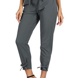 GRACE KARIN Womens Casual High Waist Pencil Pants with Bow-Knot Pockets for Work | Amazon (US)