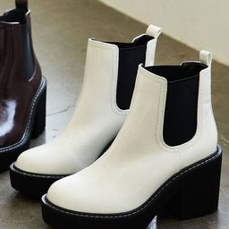 Faux Patent Leather Chelsea Boots | Forever 21 (US)