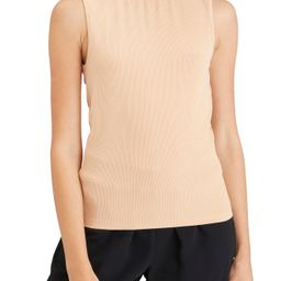 Women's Sanctuary Essential Sleeveless Mock Neck Shirt, Size XX-Small - Beige   Nordstrom