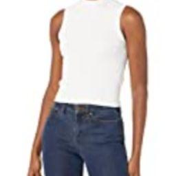 GUESS Women's Sleeveless Aline Sweater Top, Cream White, Medium   Amazon (US)