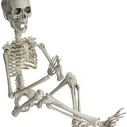 "Prextex 19"" Posable Halloween Skeleton- Full Body Halloween Skeleton with Movable /Posable Join... | Amazon (US)"