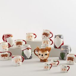 Holiday Ceramic Mug Collection | Pottery Barn (US)