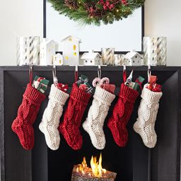 Colossal Knit Stockings   Pottery Barn (US)