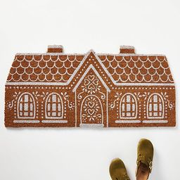 Gingerbread House Doormat | Anthropologie (US)