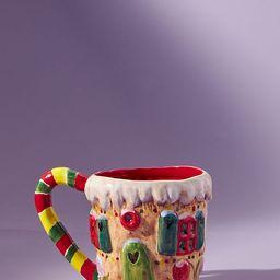 Nathalie Lete Gingerbread House Mug | Anthropologie (US)