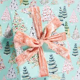 Susannah Garrod Trimming The Tree Wrapping Paper Roll   Anthropologie (US)