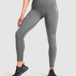 Gymshark Adapt Marl Seamless Leggings - Black | Gymshark (Global)