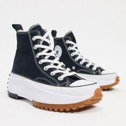 Converse Run Star Hike trainers in black   ASOS (Global)
