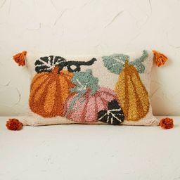 Pumpkin Lumbar Throw Pillow - Opalhouse™ designed with Jungalow™   Target