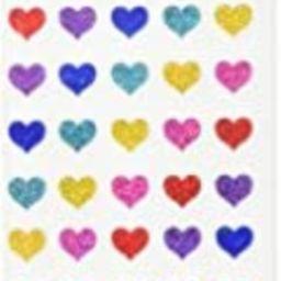 Mrs Grossman Stickers-Multi Micro Hearts | Amazon (US)