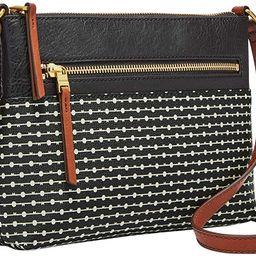 Fossil Women's Fiona Small Crossbody Purse Handbag | Amazon (US)