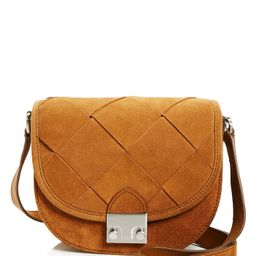 Woven Suede Saddle Bag - 100% Exclusive   Bloomingdale's (US)