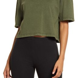 Cool Girl Crop T-Shirt   Nordstrom