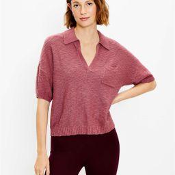 Pocket Polo Sweater | LOFT