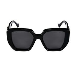Gucci Generation 54MM Oversized Rectangular Sunglasses   Saks Fifth Avenue