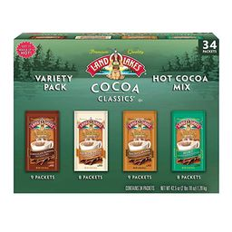 Land O' Lakes Cocoa Classics Variety Pack (34 count) | Amazon (US)