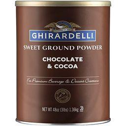 Ghirardelli Sweet Ground Chocolate and Cocoa | 3 lb. | Baking & Desserts | Amazon (US)
