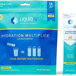 Liquid I.V. Hydration Multiplier - Lemon Lime - Hydration Powder Packets   Electrolyte Supplement...   Amazon (US)