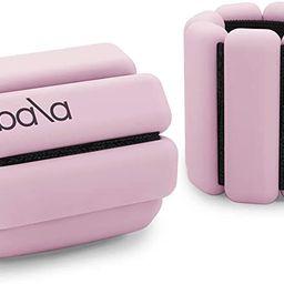 Bala Bangles - Set of 2 (1lb & 2lb)   Adjustable Wearable Wrist & Ankle Weights   Yoga, Dance, Ba...   Amazon (US)