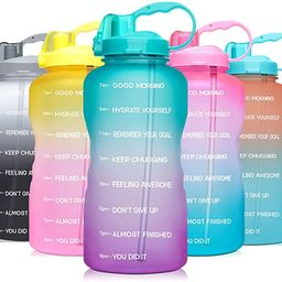 Venture Pal Large 1 Gallon/128 OZ (When Full) Motivational BPA Free Leakproof Water Bottle with S...   Amazon (US)