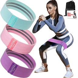 OlarHike Resistance Bands Set for Women Butt and Legs, Exercise Workout Elastic Bands for Booty, ...   Amazon (US)