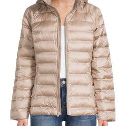 Time and Tru Women's Packable Puffer Jacket | Walmart (US)