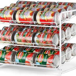 Auledio Stackable Can Rack Organizer For Kitchen Cabinet, Pantry Organization And Storage Dispens... | Amazon (US)
