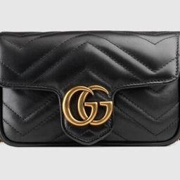 Gucci GG Marmont matelassé leather super mini bag | Gucci (US)