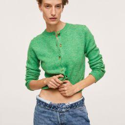 Button knit cardigan   MANGO (US)