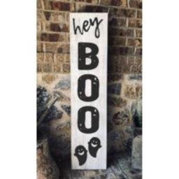 Hey Boo Wooden Porch Sign | Modern Farmhouse Home Decor | Etsy (US)