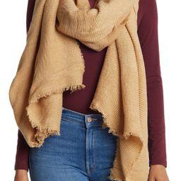 Oversized Pleated Blanket Scarf | Nordstrom Rack