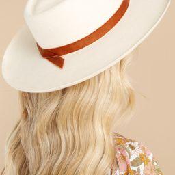 Val White Diamond Hat | Red Dress
