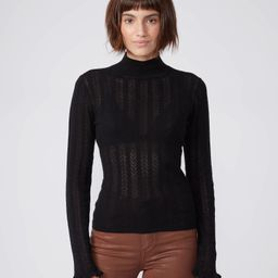 Lysette Sweater - Black | Paige