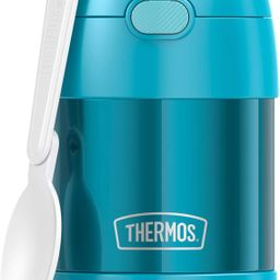 THERMOS FUNTAINER 10 Ounce Stainless Steel Vacuum Insulated Kids Food Jar with Folding Spoon, Tea...   Amazon (US)