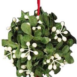 Kurt Adler Mistletoe Ball Christmas Tree Ornament J9846   Amazon (US)