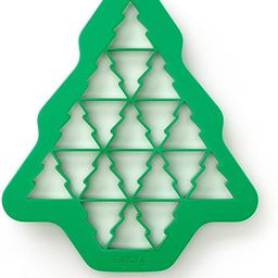 Lekue Christmas Tree Cookie Cutter Puzzle, Green   Amazon (US)