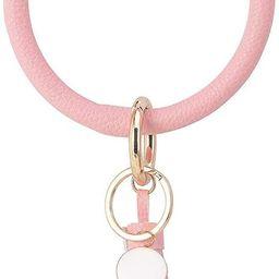 Weixiltc Large Circle Key Ring Leather Tassel Bracelet Holder Keychain Keyring For Women Girl   Amazon (US)