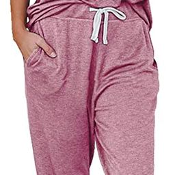 AUTOMET Womens Loungewear Sets 2 Piece Lounge Sets for Women Sweatsuits Pajamas Sets with Jogger ...   Amazon (US)