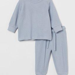 Waffled Cotton Set | H&M (US)