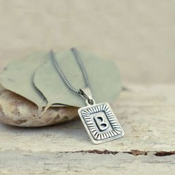 Initial Me Necklace - In Silver | Inspiranza