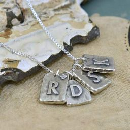 Initialed in Love (Price changes as initials and chain lengths are selected) | Inspiranza