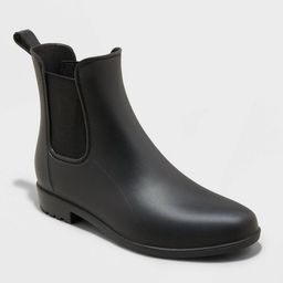 Women's Chelsea Rain Boots - A New Day™ | Target