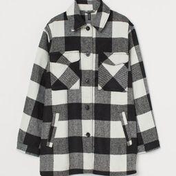 Oversized shirt jacket   H&M (UK, IE, MY, IN, SG, PH, TW, HK, KR)