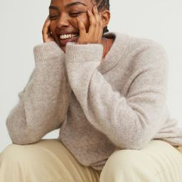 Mohair-blend jumper   H&M (UK, IE, MY, IN, SG, PH, TW, HK, KR)