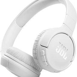 JBL Tune 510BT: Wireless On-Ear Headphones with Purebass Sound - White | Amazon (US)